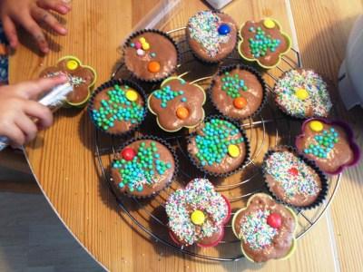 Muffins vorher