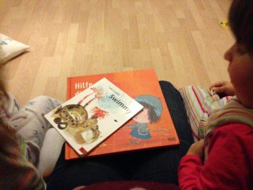 """Gute Nacht Geschichten: Swimmy und """"Das Buch hat meinen Hund gefressen"""""""