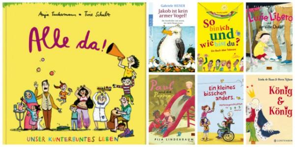 Diversity Kinderbücher Diversity Kinderbücher Literaturlisten Pink Stinks Queerformat mama notes