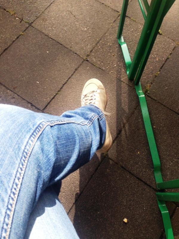 Warten in der Sonne