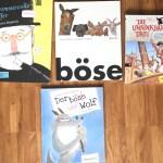 Drei philosophische Kinderbücher und eine Abenteuergeschichte