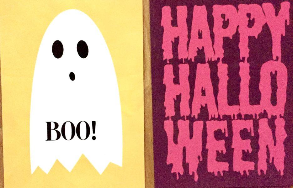 Boo! Halloweenkarte von mypostcard