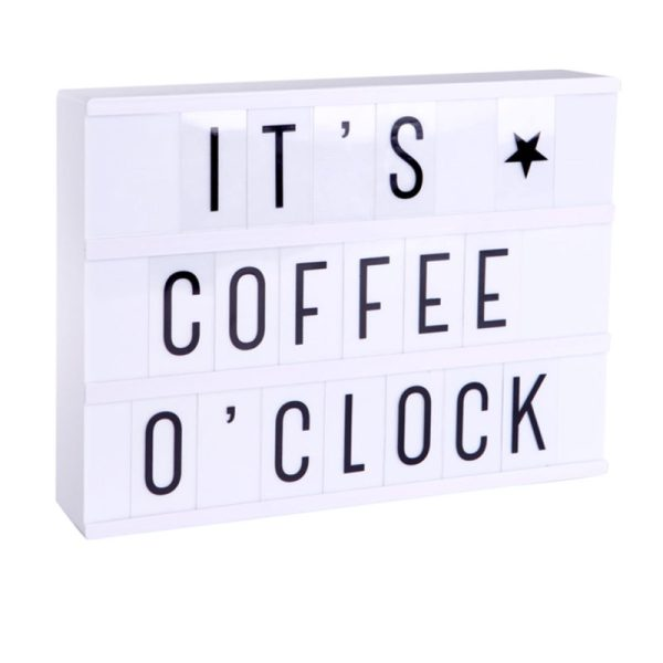 Lichtbox It's Coffee o Clock Familienblog Mama notes