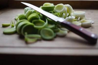 切りかけの野菜