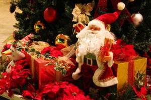 サンタクロースとプレンゼント