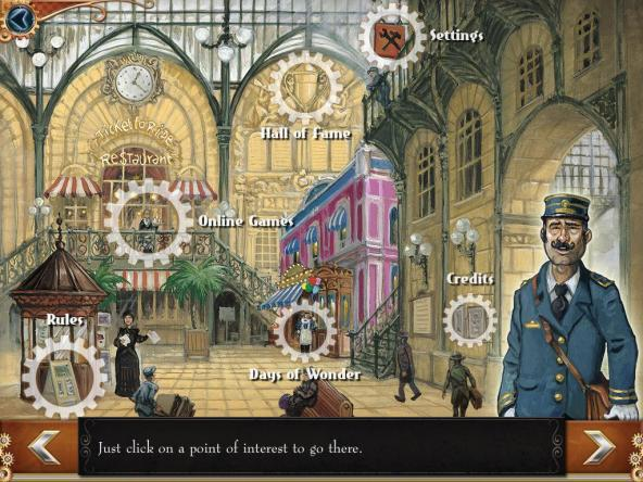 Ticket to Ride: Settings Screen