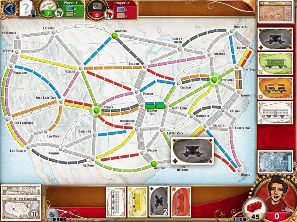 Ticket to Ride: Choosing a Train Card