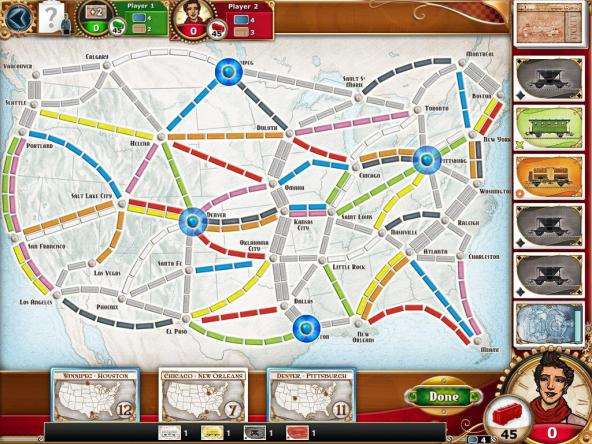 Ticket to Ride: Basic Game Play