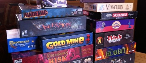 Feeling bored? Try a boardgame!