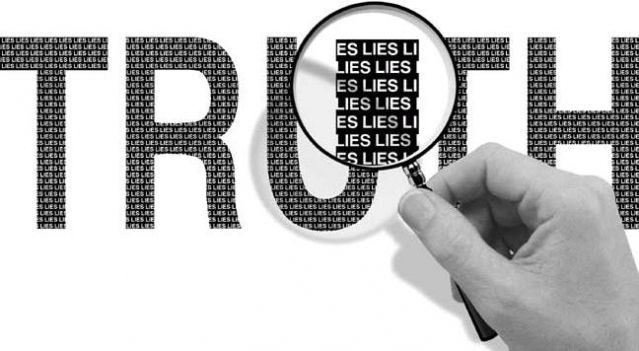 Lies within truth