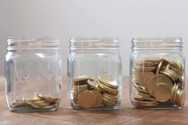 savings jar money