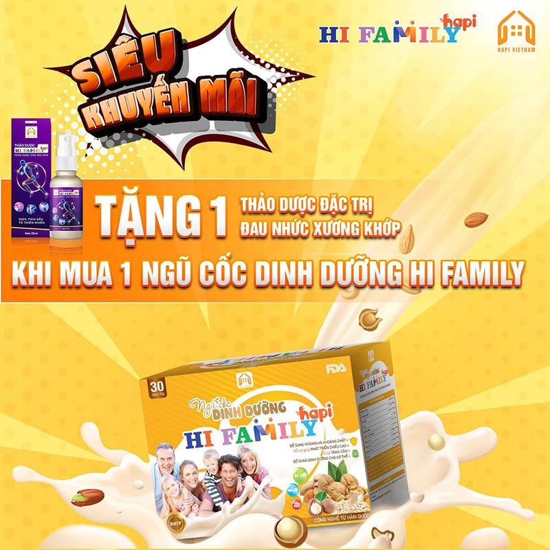 Ngũ cốc dinh dưỡng Hi Family