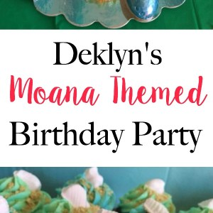Deklyn's Moana Themed 2nd Birthday Party | Featuring Sugar Owl Designs - Moana decorations and birthday party ideas | www.mamabearbliss.com
