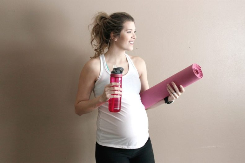 Expecting and Empowered - A pregnancy workout guide for the busy mama | www.mamabearbliss.com