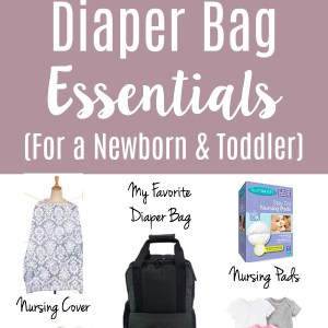 The BEST list of diaper bag essentials from a mom of two. The only practical baby items you need to pack as a minimalist mama.
