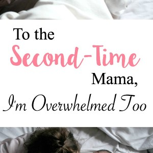 Adjusting to mom life of two children can be challenging and overwhelming. Here is an open letter to the second time mom when she needs a little encouragement and support. | www.mamabearbliss.com