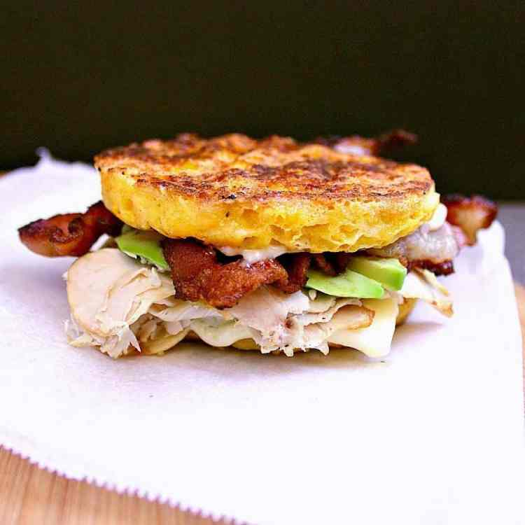 This epic low carb sandwich will knock your socks off with it's excellence. Loaded with delicious treats, this dish will be your next best friend!