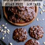Pin this keto no bake cookies recipe for later!