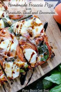 Pin this homemade focaccia pizza recipe for later!