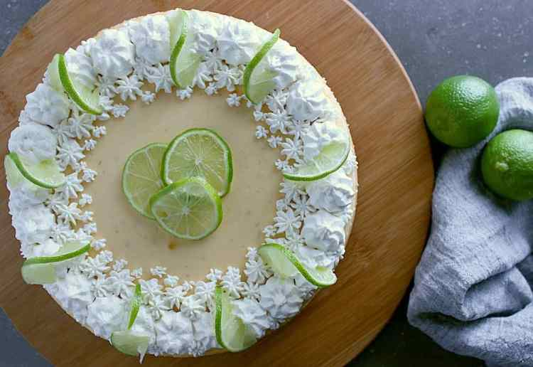 Impress your guests with this ridiculously delish Ultra Creamy Lime Cheesecake, perfect for birthdays or any other special occasion.