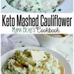Pin this keto mashed cauliflower recipe for later!