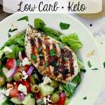 Pin this Grilled Keto Greek Chicken recipe for later!