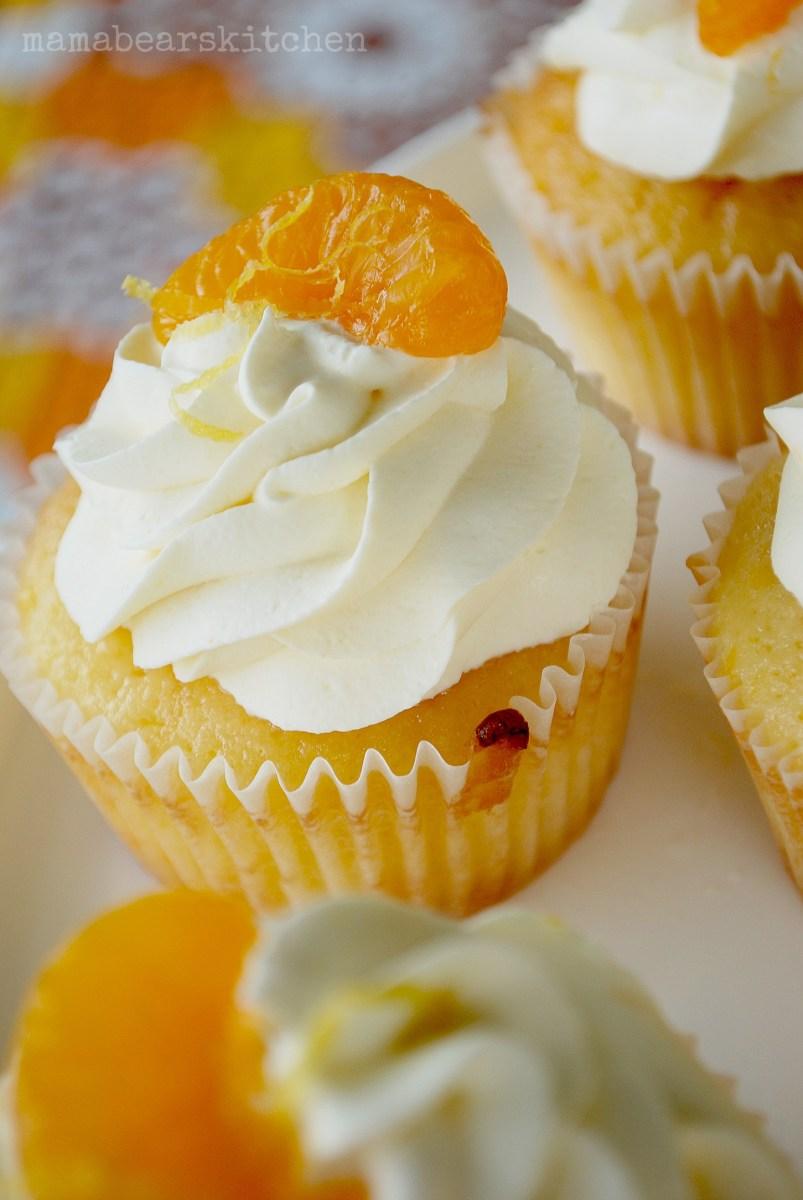 Mandarin Cupcake recipe