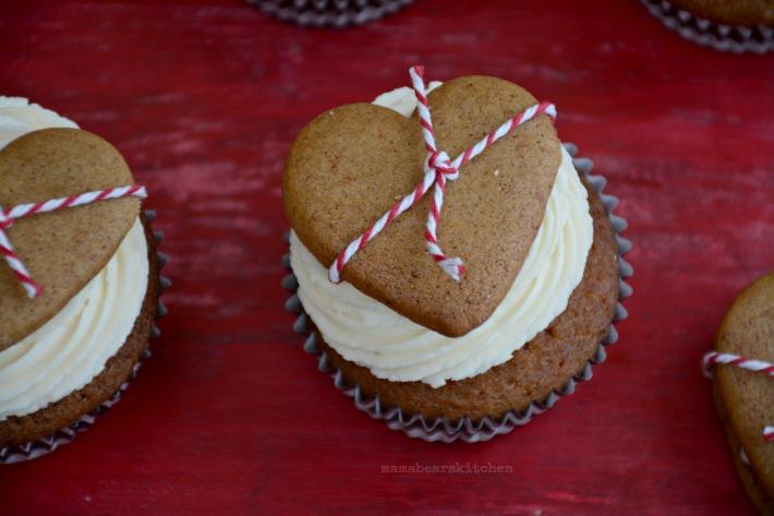 ginger cupcake 16