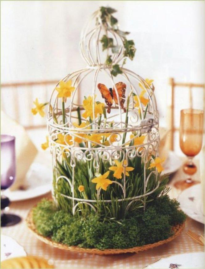 Turning A Cage Into Punch Station Is Great Idea For Summer Party