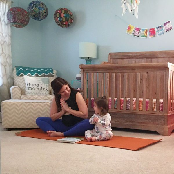 How Yoga Makes Me a Better Mom