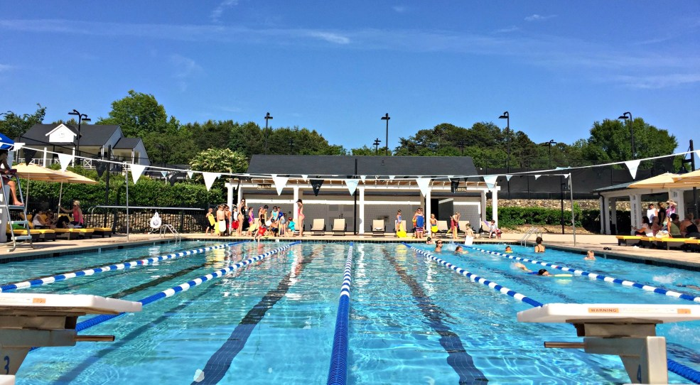Swim Team in the Busyness of may