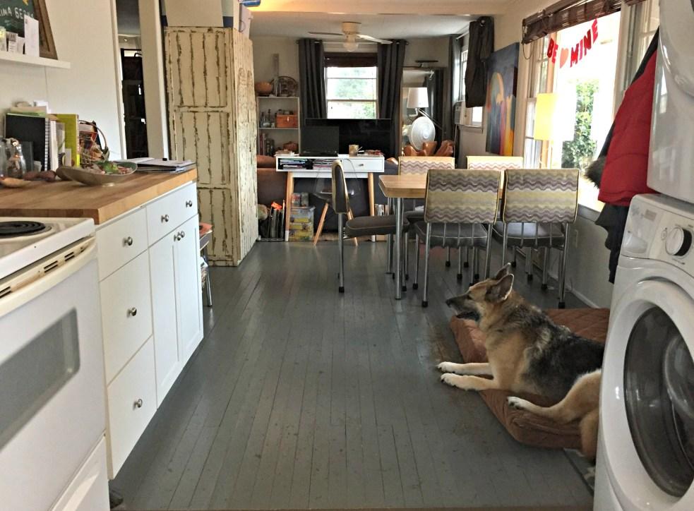 Tiny Kitchen, Dining, Living