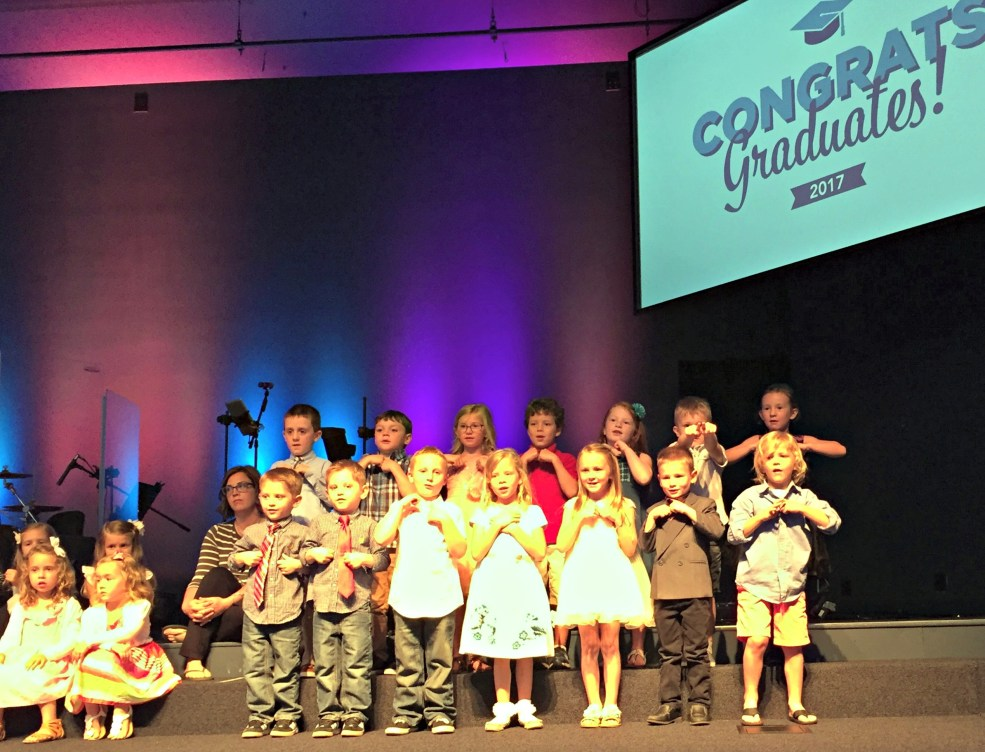 Preschool Graduation Ceremony
