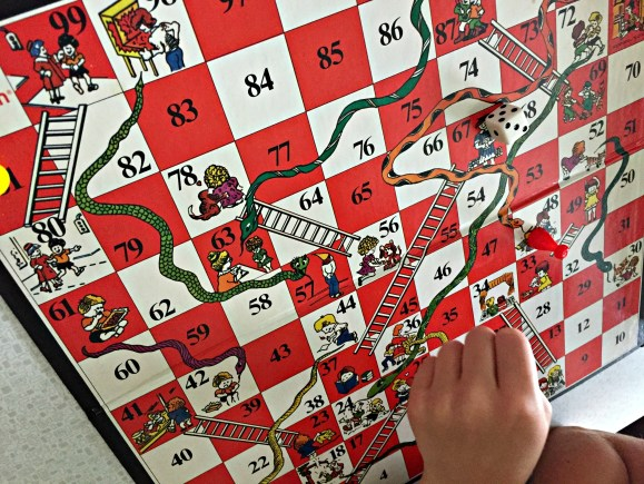 Snakes and Ladders - game
