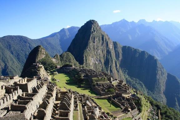 Machu Picchu - Fireworks
