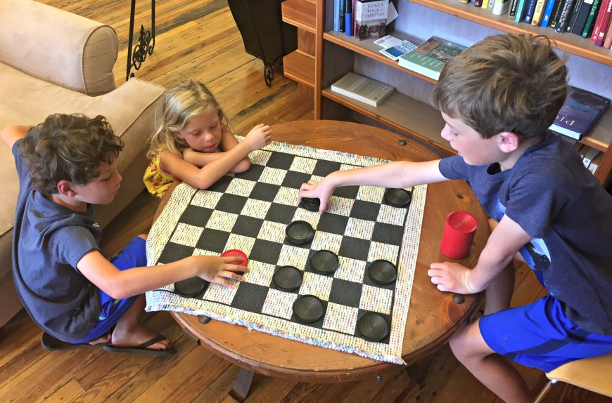 Checkers before the Eclipse