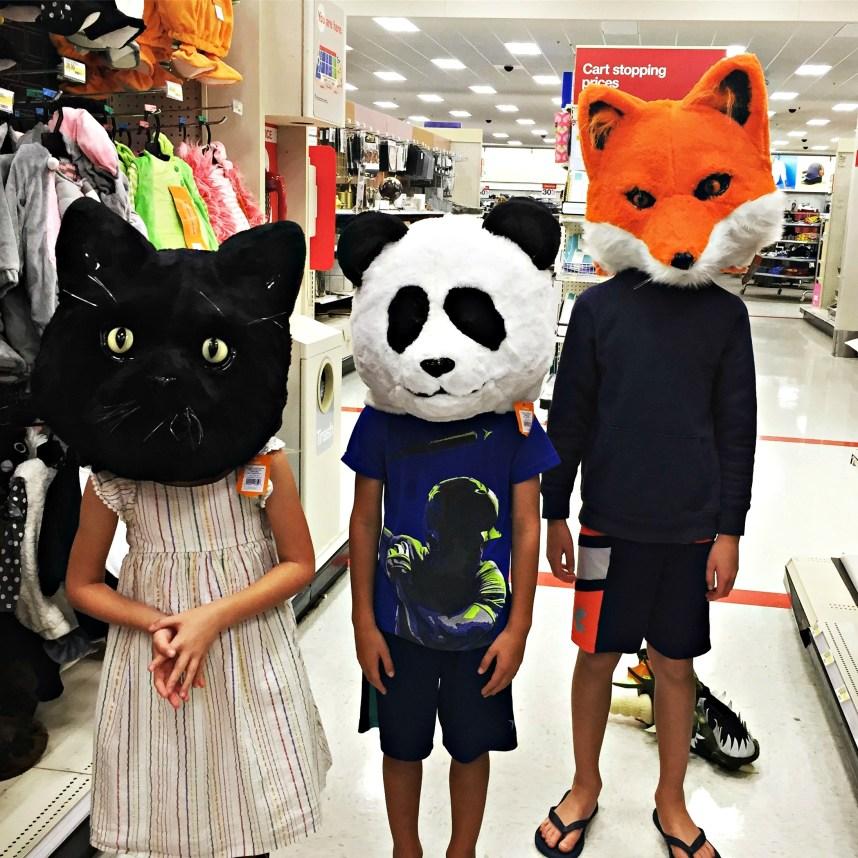Halloween Shopping - School