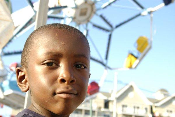 Sam at the Amusement Park