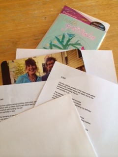 Preparing the benefactor mailings!