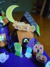 Decoration. Spooky Village Finished House 3