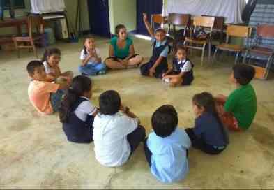 Taller realizado en la escuela Verdín en Socorro (Santander)