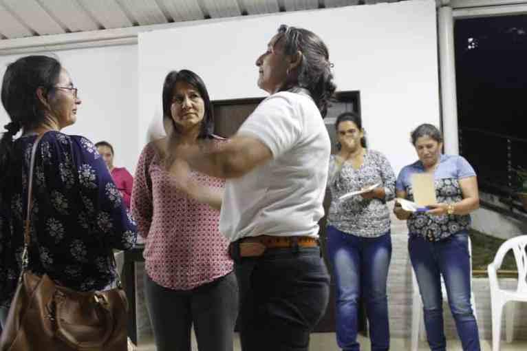 Taller de teatro social en Oiba, Santander
