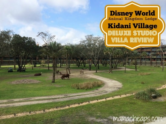 Disney World Animal Kingdom Lodge Kidani Village Deluxe