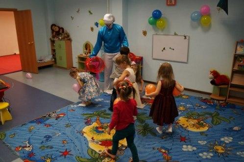 день рождения в детском центре