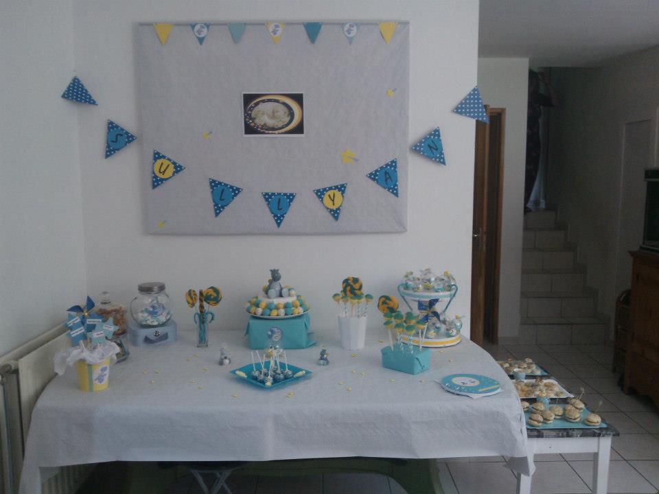 My sweet table : Baptême de Sullyan sous le signe de Victor et Lucien ( Noukies ) (1/6)