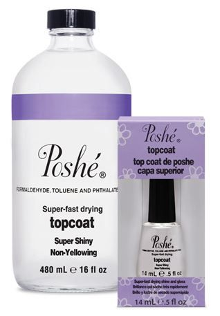 top coat poshé