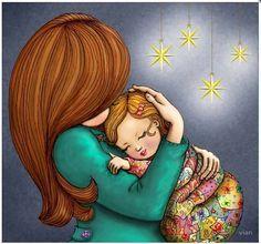 Copiii cresc cu dragoste și somn