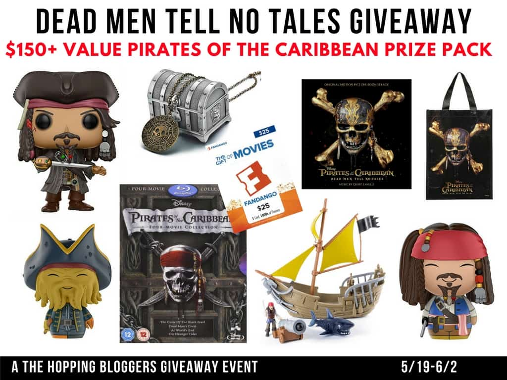 Pirates of the Caribbean: Dead Men Tell No Tales | #Giveaway