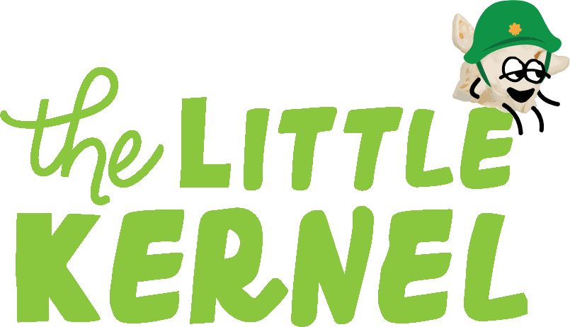 Snacking on mini popcorn | The Little Kernel
