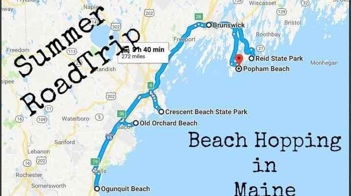 Summer Roadtrip; Beach hopping in Maine